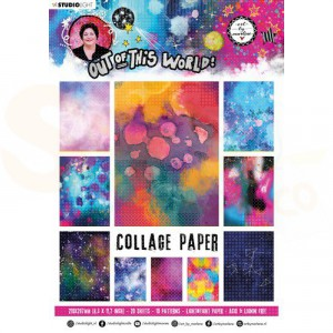 StudioLight, Art by Marlene - paperpad Out of this World ABM-OOTW-PP14
