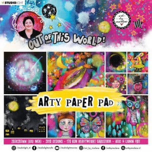 StudioLight, Art by Marlene - paperpad Out of this World ABM-OOTW-PP16