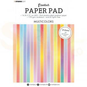 StudioLight, paperpad A5 Essentials Multicolors SL-ES-PP20