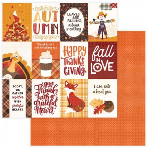 Photoplay Paper, Mad 4 Plaid Fall PPMPF12 9542, Fall in Love