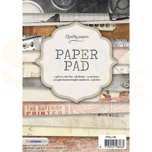 Studiolight, paper pad blok A5, nr. 108