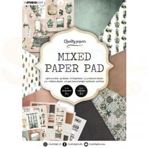 StudioLight, Mixed Paper pad A5, PPSL157