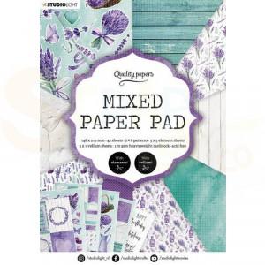 StudioLight, Mixed Paper pad A5, PPSL158