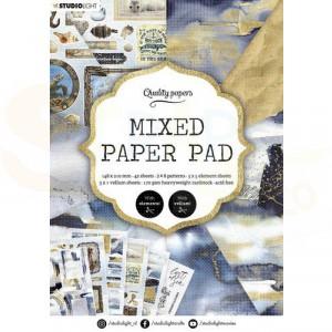 StudioLight, Mixed Paper pad A5, PPSL159