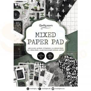 StudioLight, Mixed Paper pad A5, PPSL160