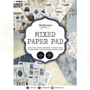 StudioLight, Mixed Paper pad A5, PPSL162