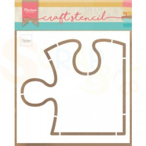 PS8052, Craft stencil Marianne Design, Puzzel