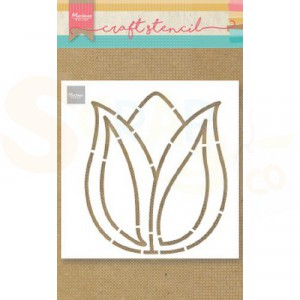 PS8060, Craft stencil Marianne Design, Tulip
