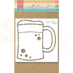 PS8063, Craft stencil Marianne Design, Bierpul