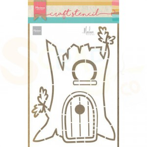 PS8073, Craft stencil Marianne Design, Treehouse by Marleen