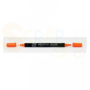 Zig writer for Vellum, orange MS-6300/070