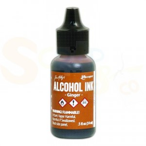Ranger Alcohol ink 15 ml, ginger TIM22046