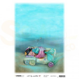 StudioLight, Art by Marlene - ricepaper So-Fish-Ticated nr.14 ABM-SFT-RICE14