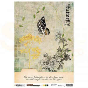StudioLight, Just Lou Butterfly Collection, RICEJL21