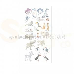 Alexandra Renke, Rub-ons RO-AR-Ti0001, Animal Hullabaloo
