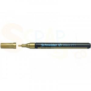 Schneider, lakmarker goud 1-2 mmMaxx 271, S-127153
