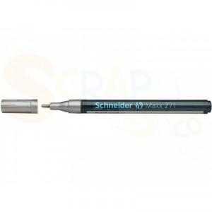 Schneider, lakmarker zilver 1-2 mm Maxx 271, S-127154