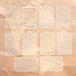 Elizabeth Craft Designs, 040, Pattern Stencil pack