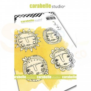 Carabelle Studio, Cling stamp, Art Dolls SA60498