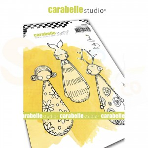 Carabelle Studio, Cling stamp, Little Skittles SA60501