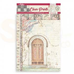 Stamperia Clear Prints A4, Alice SBA412