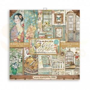 SBBL85 paperpad 12x12 inch Stamperia, Atelier des Arts