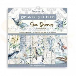 SBBL87 paperpad 12x12 inch Stamperia, Romantic Sea Dream