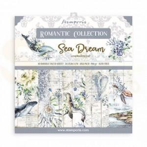 SBBS35 paperpad 8x8 inch Stamperia, Romantic Sea Dream
