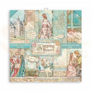 SBBS38 paperpad 8x8 inch Stamperia, Sleeping Beauty