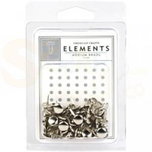 Brads mini 5 mm, silver