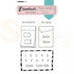 StudioLight, clearstamp Planner Essentials nr. 510 STAMPSL510