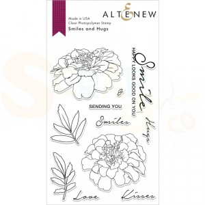 Altenew, clearstamp Smiles and Hugs ALT2492