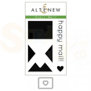 Altenew, stamp & die bundle, Snail Mail ALT2934