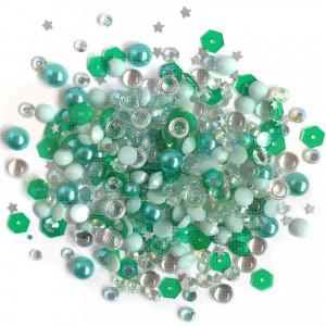 Sparkletz embellishments, Aquamarine SPK-109