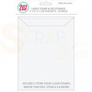 "Avery Elle, Stamp&Die Storage pockets large 5.5x7.375"" SS-5001"