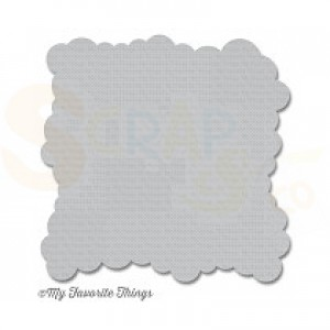ST-100 My Favorite Things stencil Cloud