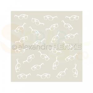 Alexandra Renke, stencil Sunglasses ST-AR-MU0033