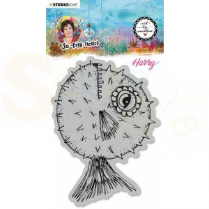 StudioLight, Art by Marlene - cling stamp So-Fish-Ticated nr.15 ABM-SFT-STAMP15