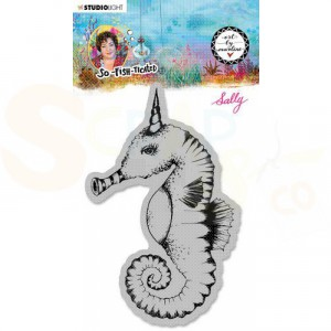 StudioLight, Art by Marlene - cling stamp So-Fish-Ticated nr.16 ABM-SFT-STAMP16