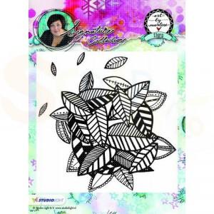 StudioLight, Art by Marlene - stamp achtergrond 10 STAMPBM10