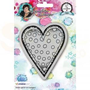 StudioLight, Art by Marlene 2.0 - stamp Hearts 22 STAMPBM22