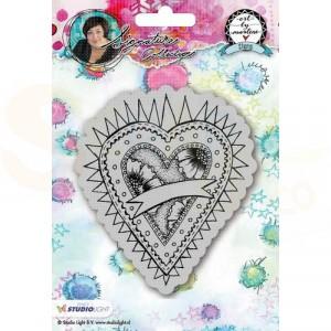 StudioLight, Art by Marlene 2.0 - stamp Hearts 23 STAMPBM23