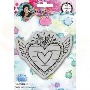 StudioLight, Art by Marlene 2.0 - stamp Hearts 24 STAMPBM24