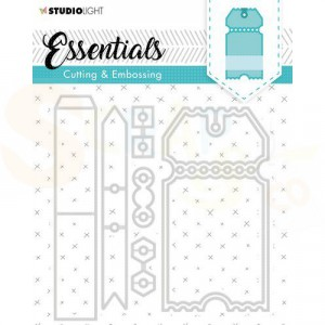 Studio Light, Embossing die cut Essentials STENCILSL276