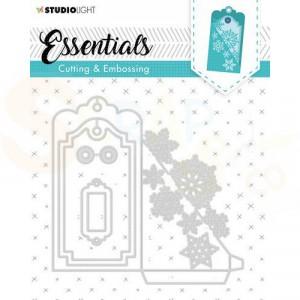 Studiolight, embossing die cut stencil Label Essential nr. 318 STENCILSL318