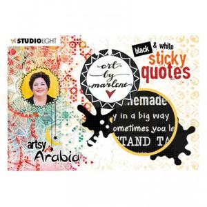 StudioLight, art by Marlene - sticker Artsy Arabia nr. 03 STICKERBM03