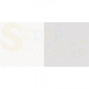 Dini Design Scrappapier, stippen bloemen, zilvergrijs #2007