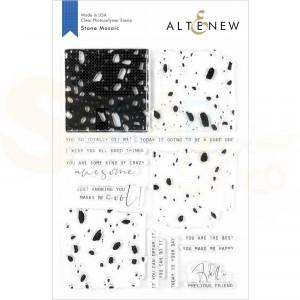Altenew, clearstamp Stone Mosaic ALT3634