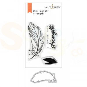 Altenew, stamp & die Strength ALT3926