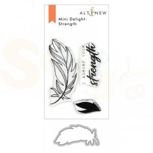 Altenew, stamp & die Strength ALT3926
